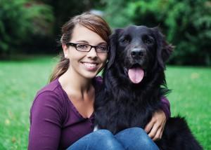 Tierphysiotherapeutin Corinna Arlt & Rusty